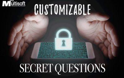 Custom Secret Questions