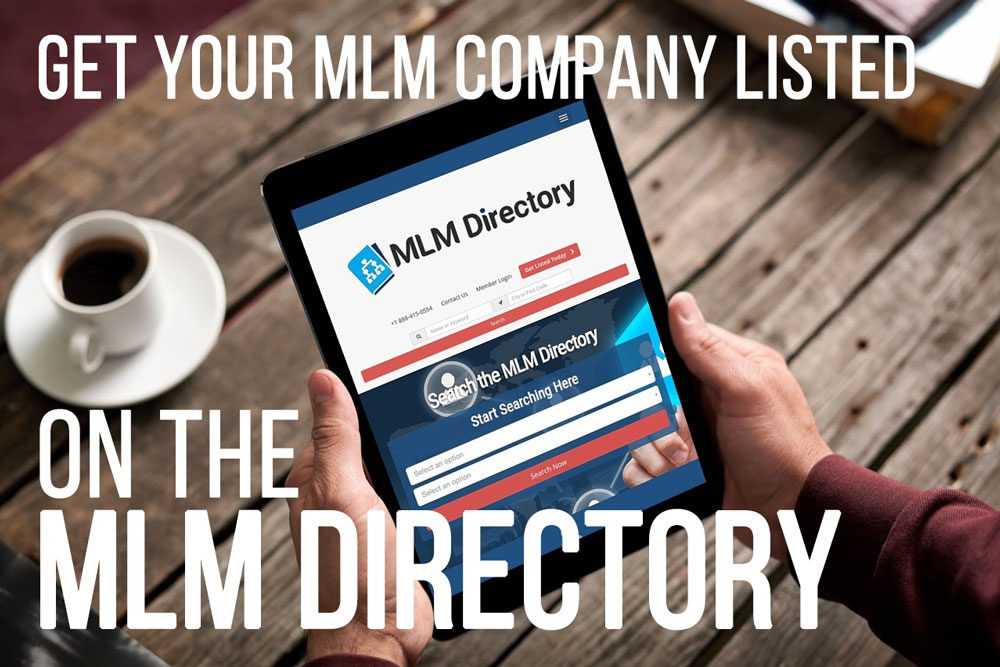 Get Your Company Listed In The MLM Directory for Free!